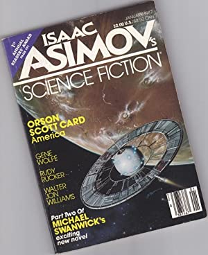 Isaac Asimov's Science Fiction - January 1987 - The Peace Spy, America, Wolf Time, Vacuum Flowers...