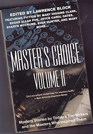 Master's Choice Vol. (ii) (two) 2: -: Block, Lawrence (ed)