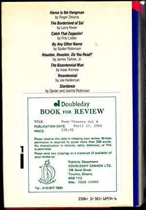 Hugo Winners: 1976-1979 Volume 4 (four)- (1st Edition - Review Copy) The Borderland of Sol, Catch ...