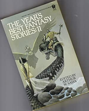 The Year's Best Fantasy Stories: II (eleven) - Draco Draco, The Harvest Child, A Cabin on the Coa...