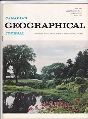 Canadian Geographical Journal, July 1967 - Eskimo Stone Boat, The Prairies & the Ducks, The ...