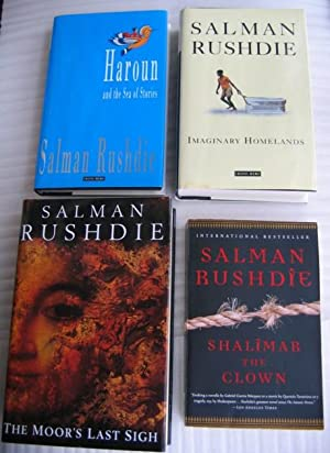 """Salman Rushdie collection: """"Haroun and the Sea of Stories"""" (hc), """"Imaginary ..."""