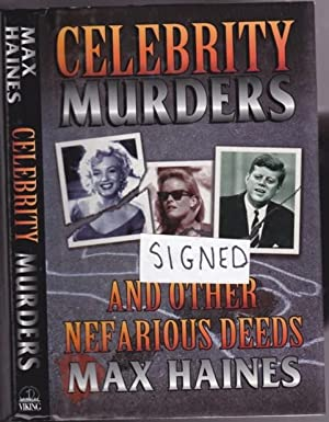Celebrity Murders and Other Nefarious Deeds (SIGNED) - Rosco