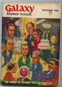 Galaxy Science Fiction October 1952 Vol 5,: MacDonald, John D.;