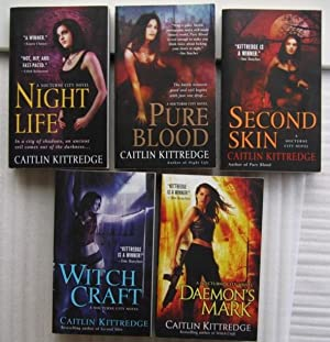 Nocturne City: book (1) one - Night Life; book (2) two - Pure Blood; book (3) three - Second Skin...
