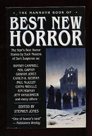 The Mammoth Book of Best New Horror: Jones, Stephen .editor