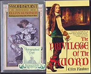 Swords of Riverside: book (1) one - Swordspoint; book (2) two - The Privilege of the Sword; --the ...