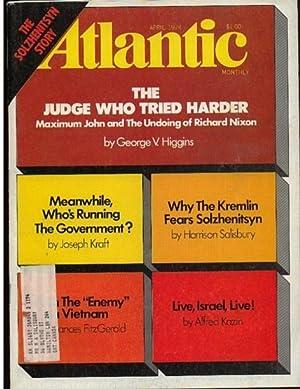 Atlantic Monthly, April 1974, The Solzhenitsyn Story,: Manning, Robert (ed)