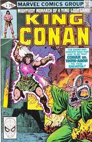 King Conan -issue # (4) four, December: Thomas, Roy; Buscema,