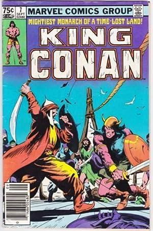 King Conan -issue # (7) seven, September: Thomas, Roy; Buscema,