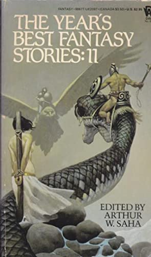 The Year's Best Fantasy Stories: II (eleven) - Golden Apples of the Sun, The Foxwife, Unmistakabl...