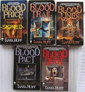 Victoria Nelson series: book one - Blood Price; book two - Blood Trail; book three - Blood LInes; ...