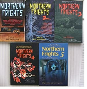 """Northern Frights series: Books 1, 2, 3, 4, & 5 -the complete 5 volume set of """"Northern ..."""