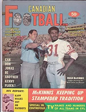 Canadian Football News - September 1971 -: Halpin, Charlie (ed)