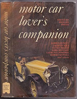 The Motor Car Lover's Companion - Pursuit: Hough, Richard (ed)