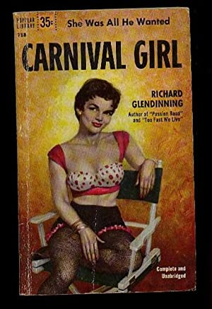 """Carnival Girl .by the Author of """"Passion Road"""" & """"Too Fast We Live"""": ..."""