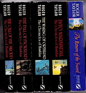 Chronicles of Hawklan: book (1) one - Call of the Sword; book (2) two -The Fall of Fyorlund; book (...