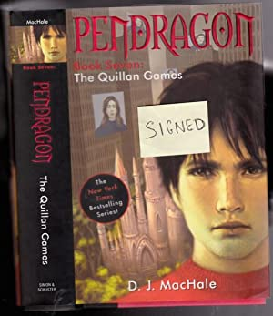 The Quillan Games - (The seventh book in the Pendragon series) -(signed)-