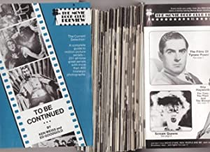 The Movie Book Club Preview - 72 Issues from 1972 to 1978: The Movie Book Club; Roberts, Steve ( ...