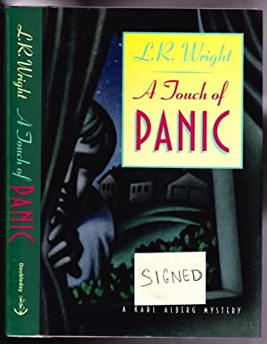 A Touch of Panic -(SIGNED)- (A Karl Alberg Mystery): Wright, Laurali R. -(signed)-