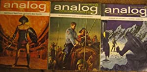 Analog: Science Fact / Science Fiction: October, November, December 1964 (.3 issues) featuring...