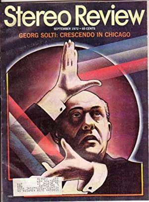 """Stereo Review: Volume 29, # 3, September 1972, Featuring: Thirties Musicals, Holst's """"The ..."""