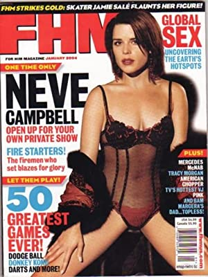 """For Him Magazine - January 2004 .featuring """"Jamie Sale"""" of """"Sale and Pelletier"""" the..."""