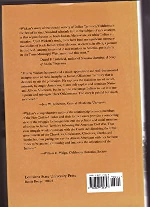 Contested Territory: Whites, Native Americans, and African Americans in Oklahoma 1865-1907 -(SIGNED...