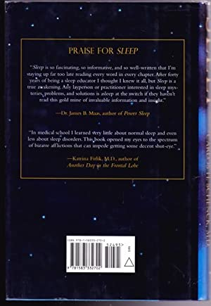 Sleep: The Mysteries, the Problems, and the Solutions: Schenck, M.D., Carlos H.; -(signed)-