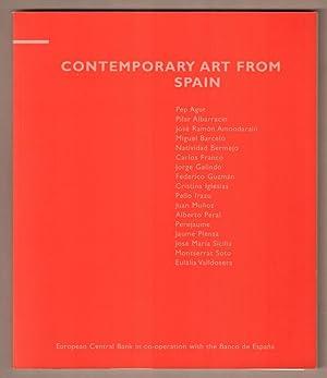 Contemporary art from Spain. 21 November 2001