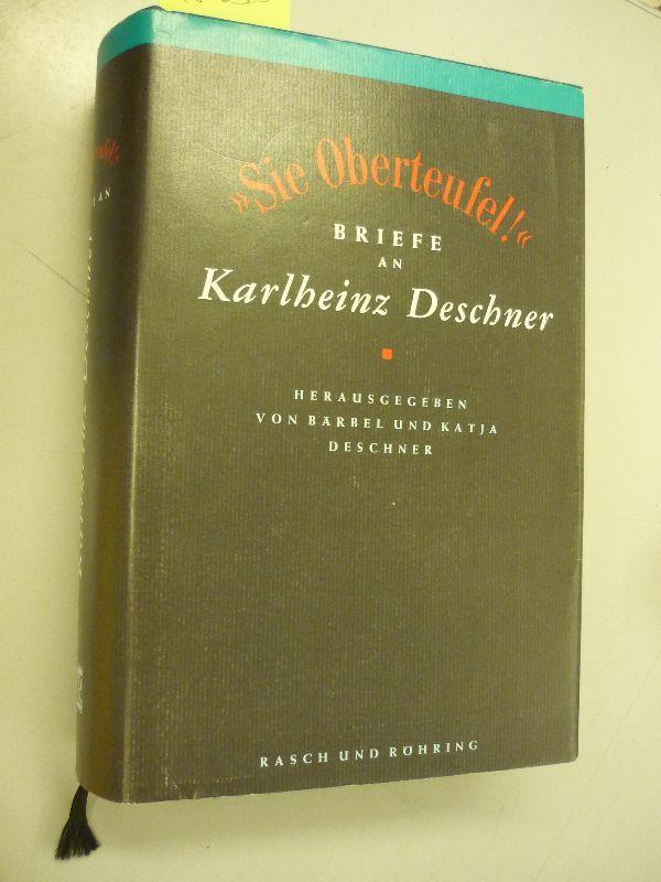 Briefe Von Karlheinz : Karlheinz deschner von zvab