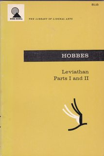 Leviathan, Parts One and Two: HOBBES, Thomas