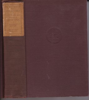 A Diversity of Creatures and Letters of: Kipling, Rudyard