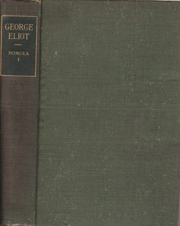 Romola I (Century Library Editions: Works of: Eliot, George