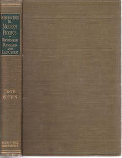 Introduction to Modern Physics: Richtmyer, F. K.;