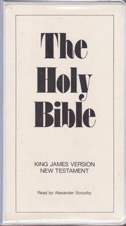 holy bible cassette - AbeBooks