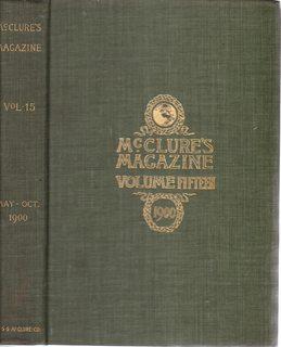 McCLURE'S MAGAZINE (volume XV: May, 1900, through: London, Jack, Arthur