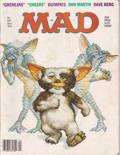 Mad Magazine Issue # 249 September 1984