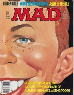 Mad Magazine No. 263 June 1986