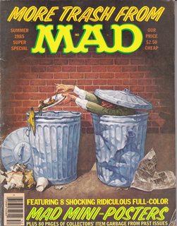 MAD MAGAZINE / MORE TRASH FROM MAD: MAGAZINE, MAD