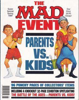MAD MAGAZINE 1989 SUPER SPECIAL SPRING: Authors, Various