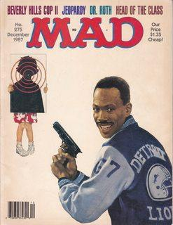 Mad Magazine Issue #275: Beverly Hills Cop