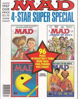 Mad Super Special Magazine Issue #61: 4-Star