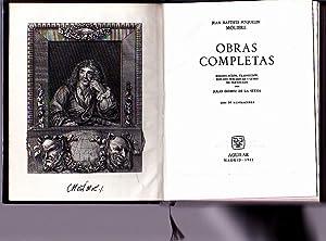 OBRAS COMPLETAS.: POQUELIN MOLIERE, J.B.