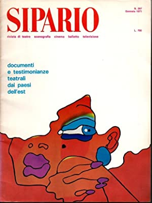 SIPARIO. RIVISTA DI TEATRO, SCENOGRAFIA, CINEMA, BALLETTO, TV. Nº 297.