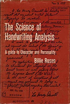 The Science of Handwriting Analysis A Guide: Rosen, Billie Pesin