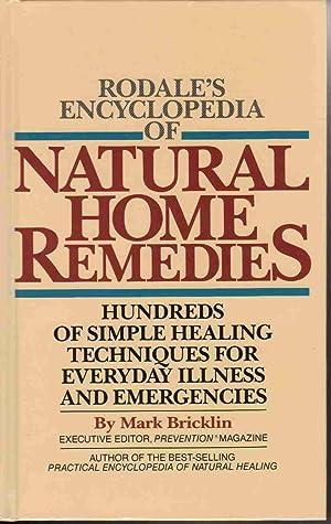 RODALE'S ENCYCLOPEDIA OF NATURAL HOME REMEDIES: HUNDREDS: Bricklin, Mark