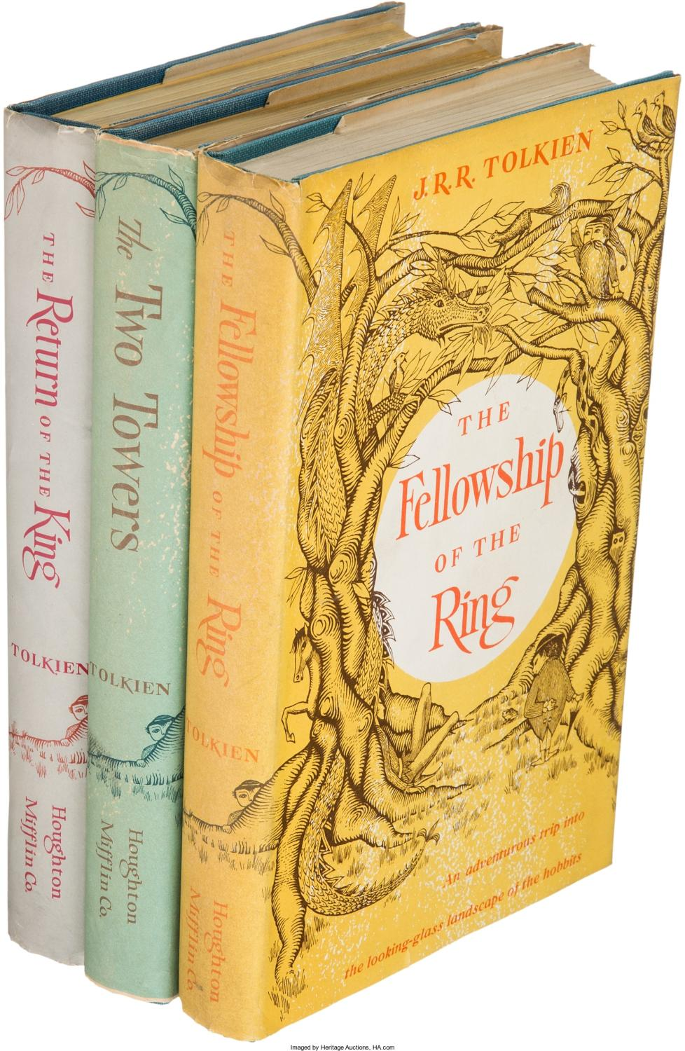 The Lord of the Rings: First American Edition Set by J.R.R