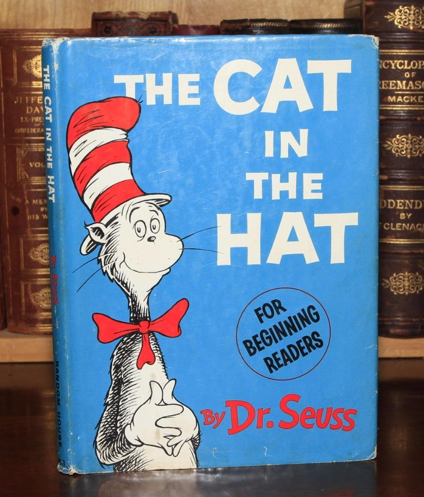Cat in the Hat Dr. Seuss