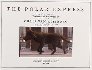 The Polar Express (inscribed by author): Chris van Allsburg